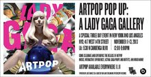ARTPOP Pop Up Announcement