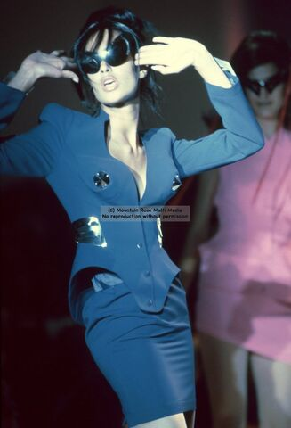 File:Thierry Mugler Spring Summer 1991 Blue Dress Suit.jpg