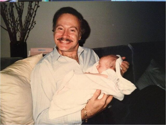 File:My godfather died yesterday, sweet man I love him. That's me, just a lil baby in his arms. Buono note.jpg