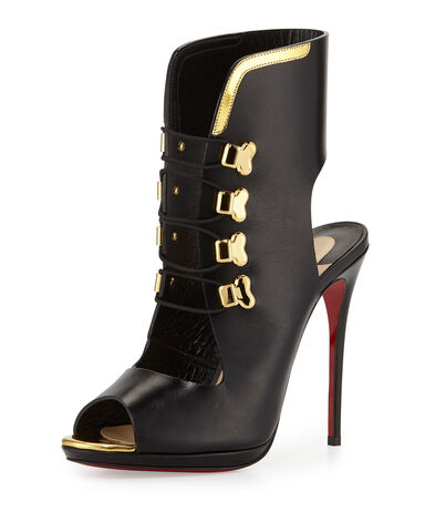 File:Christian Louboutin - Troubida lace front red sole pump.jpeg
