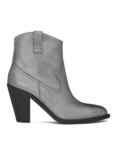 File:Saint Laurent - Curtis 80 western ankle boot in dark silver metallic suede.jpg