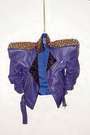 Haus of Gaga Purple Studded Jacket