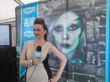 Skype Blue carpet Reporter