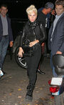 10-11-15 Arriving at Joanne Trattoria Restaurant in NYC 001