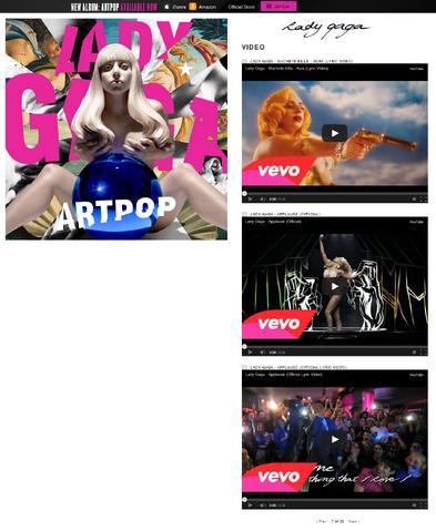 File:Official Website - ARTPOP - Videos.png