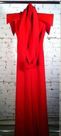 Sally LaPointe Custom Red Jumpsuit