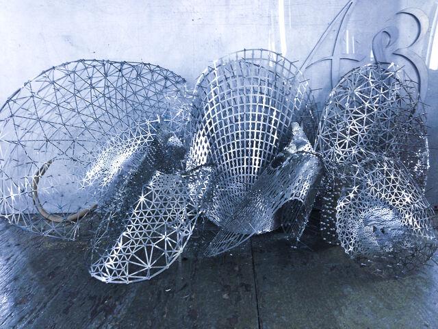 File:ThreeAsFour - Custom silver dress.jpg