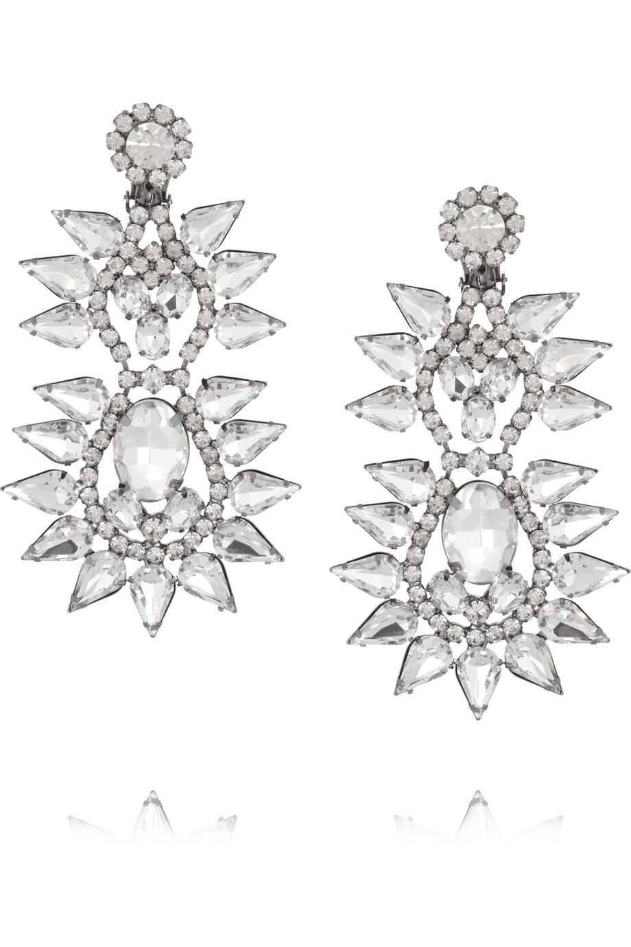 File:Kenneth Jay Lane - Tier crystal spike clip-on earrings.jpg