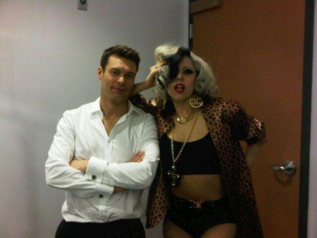 File:5-25-11 Lady Gaga and Ryan Seacrest.jpg