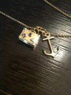 Taylor and Gaga charm necklace