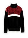 Zara - Velvet sweatshirt