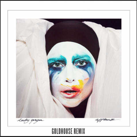 File:Lady Gaga - Applause (GoldHouse Remix).png
