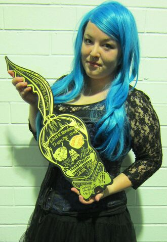 File:The Born This Way Ball Tour Monster Pit Key holder 7-8-12.jpg