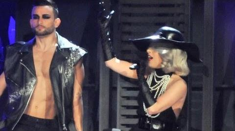 """Lady Gaga performs """"Marry The Night"""" - Children in Need Rocks Manchester - BBC"""