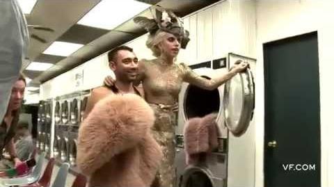 Behind the Scenes of Annie Leibovitz Photoshoot 2011