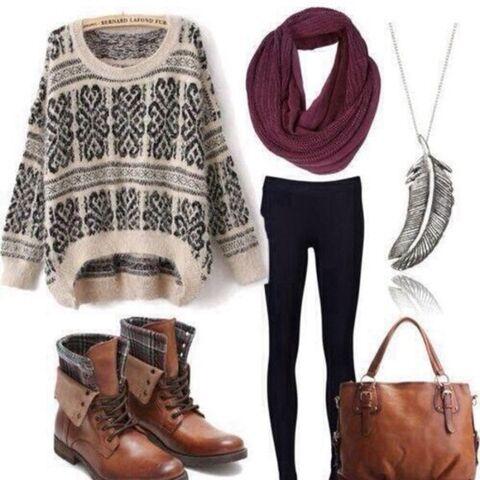 File:1ygija-l-c680x680-shoes-blue-boots-brown-dark-vintage-cute-girly-boot-tribal-pattern-print-sweater-weather-maroon-scarf-jeans-leggings-yo.jpg