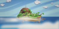Island of the Smoky Peak