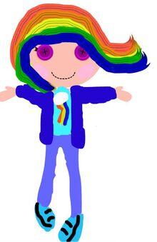 Rainbow dash flash
