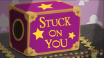 Stuck on You title card