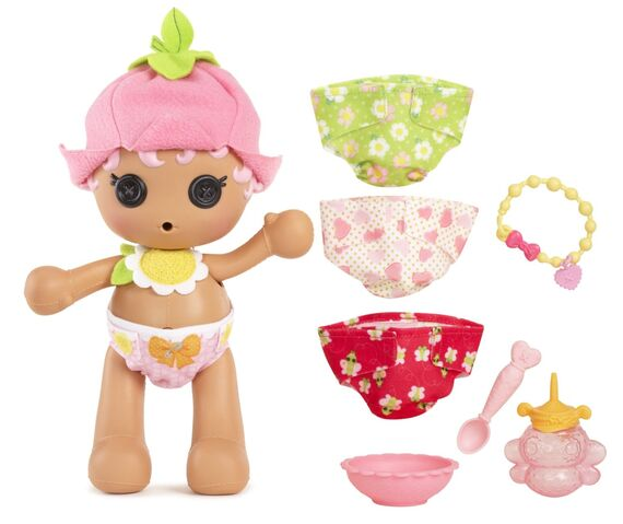 File:Blossom Flowerpot doll - Babies (Diaper Surprise) - standing complete.jpg