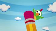 S2 E12 Parrot appears