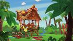 Mango's hut