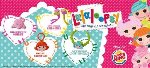 Burger King-Lalaloopsy accessories wider