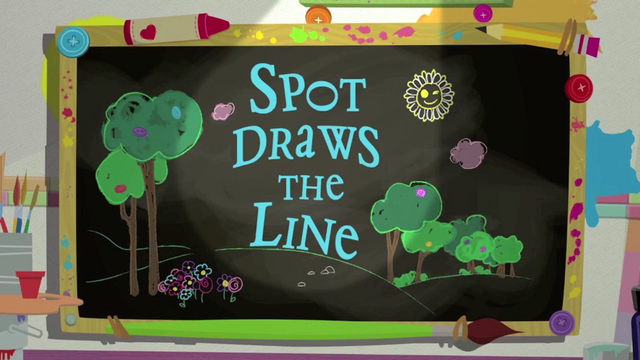 File:Spot Draws the Line title card.png