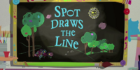 Spot Draws the Line
