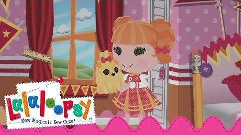 Peppy Pom Poms Gets Ready to Cheer On the Day! Lalaloopsy