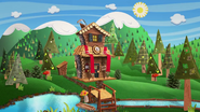S2 E17 Forest's house