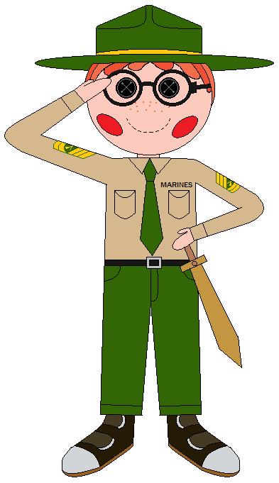 Gunnery Sergeant Oorah (w) Spectacles