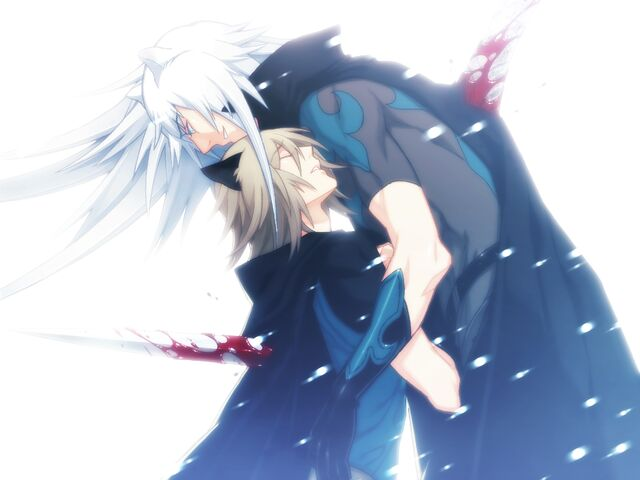 File:Rai smileing peacefuly as konoe and himself stab eachother.jpg