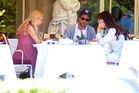 Out for lunch with Francesco Carrozzini and Franca Sozzani in Stresa2C Italy 28August 229 282429