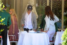 Out for lunch with Francesco Carrozzini and Franca Sozzani in Stresa2C Italy 28August 229 282229