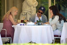 Out for lunch with Francesco Carrozzini and Franca Sozzani in Stresa2C Italy 28August 229 28129