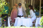 Out for lunch with Francesco Carrozzini and Franca Sozzani in Stresa2C Italy 28August 229 282329