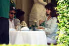 Out for lunch with Francesco Carrozzini and Franca Sozzani in Stresa2C Italy 28August 229 28429