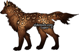 Spotty Forest Dire Wolves2