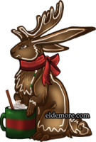 Festive Cookie Jackalopes1