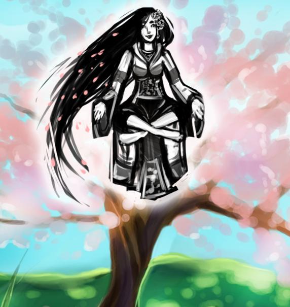 Shrinewoman