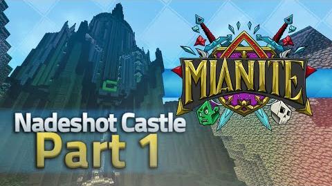 Minecraft Mianite Building - Nadeshot's Castle Part 1 Inc