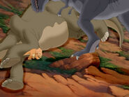 Cool Gray Sharptooth with smaller jaw