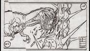 Sharptooth cut scene ramming tree