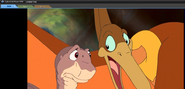 Pterano and Littlefoot