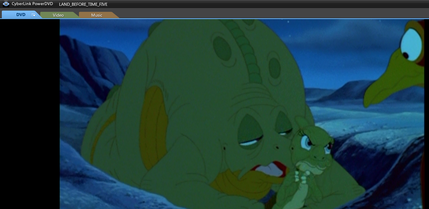 image ducky is angry with petrie png land before time wiki