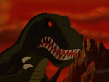 Land Before Time Sharptooth | Olivero
