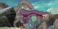 Sharptooth Family (The Lonely Journey)