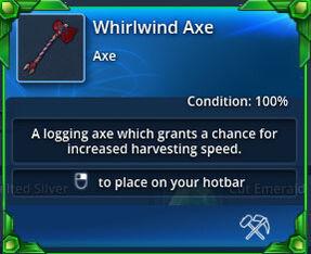 Whirlwind-axe