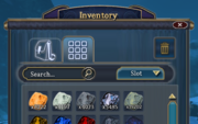Inventory Materials Tab